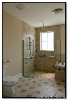 Wheelchair Accessible Homes | Accessible Shower Design Photos