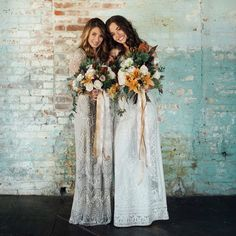 Bohemian Bridesmaid Dresses from For the Love of Grace | Green Wedding Shoes Wedding Blog | Wedding Trends for Stylish + Creative Brides