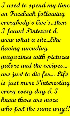 Life is more Pinteresting LOL