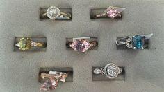 Find these beautiful new gemstone rings at Gemstone Creations in Fredericksburg, VA.