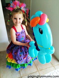 pony balloon - my little pony party