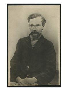 Retrato de Fiódor Mijáilovich Dostoyevski. Fotógrafo ruso (?) Bridgeman Art Library