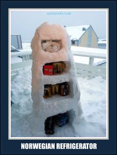 norwegian refrigerator meme cold ice snow norway winter fun funny humor wild crazy alt for norge norskarv Winter Meme, Winter Fun, Funny Images, Funny Pictures, Funny Pics, Minnesota Funny, Viking Pictures, Norway Winter, Snow