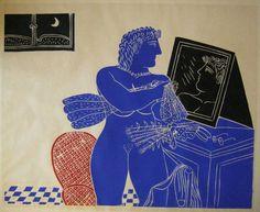 Greece Painting, Ancient Myths, Legion Of Honour, Greek Art, Printmaking, Mythology, Disney Characters, Fictional Characters, Folk