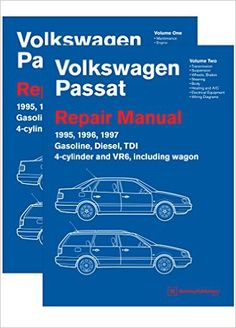 Volkswagen Passat Repair Manual: 1997 : Including Gasoline, Turbo Diesel, Tdi and Wagon Volkswagen, Passat B4, Bodyweight Strength Training, Repair Manuals, Diesel, Book Lovers, Reading, Walmart, Free