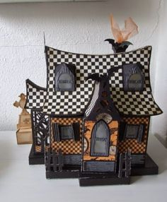 Cards and creations: Halloween SVGCuts bewitched cabin