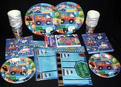 Rescue Emergency Vehicles Party Supplies Free Shipping | eBay