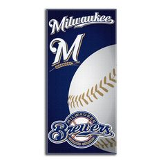 Milwaukee Brewers Beach Towel