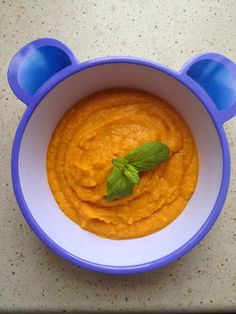 """Zupa krem z dyni"" - Przepisy BLW Hummus, Hana, Ethnic Recipes, Food, Essen, Meals, Yemek, Eten"