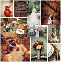 Herfst Bruiloft Inspiratie Once Upon a Wedding