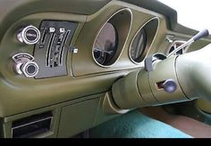 Carros Vw, Custom Car Interior, Ford Maverick, Kustom Kulture, Harley Davidson Bikes, Dashboards, American Muscle Cars, Hot Cars, Custom Cars