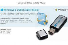 Créer une clé USB bootable pour Windows 8 avec Win8USB