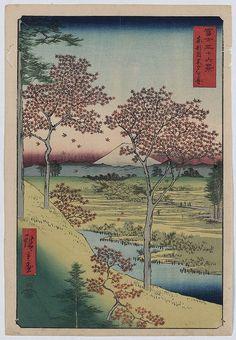 Tōto meguro yuhhigaoka (LOC)Andō, Hiroshige,, 1797-1858,, artist.