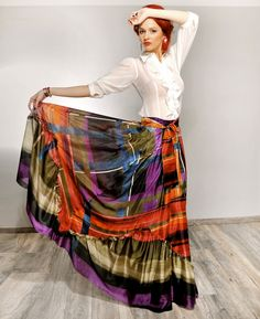 Maxi Dresses, Dress Skirt, Tie Dye Skirt, Comfy, Style Inspiration, Type, Elegant, Chic, Stylish