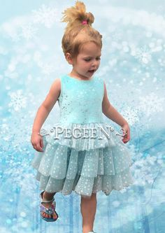 NEW PRODUCT LAUNCH ALERT! ⁠ Princess Every Day Collection by Pegeen.com starting at $79. Includes shorts.⁠  Don't let the cold ever bother you in this soft snow print, aqua princess or flower girl dress. Slip over head top with a ruffled tulle, unlined skirt.   From 12 months to Size 12  Located just 2 miles from Disney #disney #disneybounding #disneybound #disney #disneystyle #disneyworld #disneyland #wdw #disneylook #disneyprincess #princessdress #elsa #elsainspired #elsadress #frozen