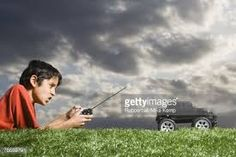 Image result for Kids playing with remote control cars