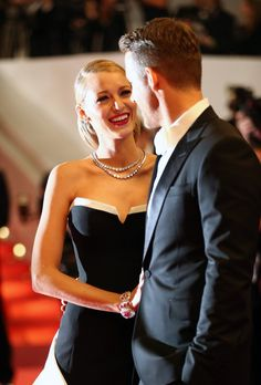 15 Photos Of Blake Lively Smiling With Her Husband Ryan Reynolds At Cannes