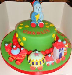 In the night garden cake Second Birthday Cakes, Harry Birthday, 1st Boy Birthday, 1st Birthday Parties, Birthday Ideas, Garden Cakes, Cake Craft, Baby Food Jars, Girl Cakes
