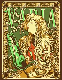 Awesome Mucha style Metroid art