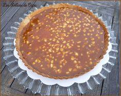 Tarte caramel nougatine4 Tarte Caramel, Coco, Panna Cotta, Buffet, Biscuits, Food And Drink, Pie, Sweets, David