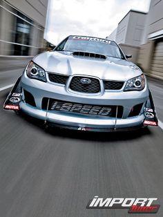Aggressive Subaru STi