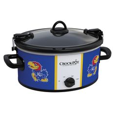 I need this!! Kansas Jayhawks Collegiate Crock-Pot® Cook & Carry™ Slow Cooker