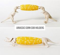 Jurassic Corn Cob Holders