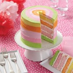 Wilton Sherbet Colors 5-Layer Cake