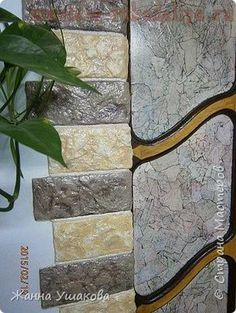 Master class on papier-mache: Decorative stones Cement Crafts, House Doors, Diy Décoration, Decor Crafts, Home Decor, Home Repair, Diy Projects To Try, Master Class, Decoration
