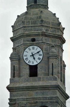 Cadran Bodet installé à Roudouallec, Bretagne - France.