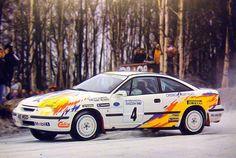 Stig Blomqvist - Benny Melander 42nd International Swedish Rally 1993 (Opel Calibra Turbo 4x4)