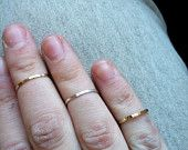 Brass First Knuckle Ring $20