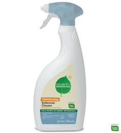 Seventh Generation® - Disinfecting Spray Cleaner, 26 oz. Trigger Spray Bottle - Cleans and disinfects in one easy step. This is the everyday cleaner we use.