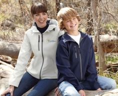 Promotional Products Ideas That Work: PROSPECT YOUTH SOFT SHELL JACKET WITH HOOD. Get yours at www.luscangroup.com