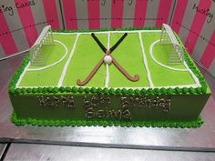 Image result for field hockey cake