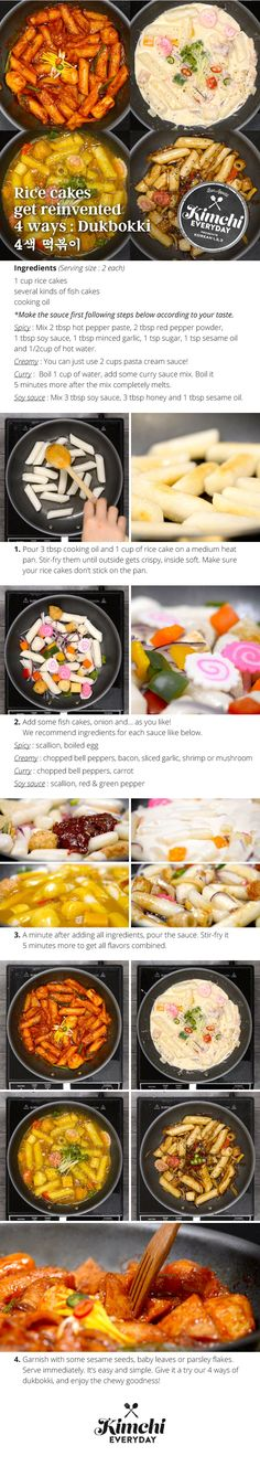 Rice Cakes  get colorful &  flavorful! Try your favorite color or flavor!