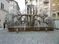 Weeping Willow, Holocaust monument in Budapest  The Tree of Life is a moving monument standing in the Dohany Street Grand Synagogue. In fact a metal weeping willow tree and each leaf carries the name of a Holocaust victim.