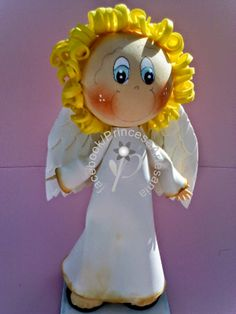 Princess Crafts: Catechesis: Fofucho Angel and Badges of Jesus, Mary and Angel