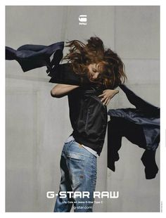 G-Star Raw Clothing Campaign S/S 2014 by Phil Hale | Designer Collection from Fashion and Style.