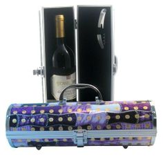 Picnic Gift Gala Sasha Wine Purse, Purple by Picnic Gift. $24.99. Dimensions: 4-1/4 x 4-1/4 x 12-5/8.. Base of the wine purse has 4 chrome feet. Great as a wine tote or a purse.. Includes a corkscrew and elastic to straps keep your bottle secure. Wine purse.. Sasha Wine Purse Charm Heart. These lovely little wine purse are perfect for the wine diva! Include a corkscrew and elastic strap to keep your bottle secure. The bottom of the tote is footed in chrome to sit g...