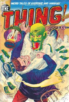 Comic Book Cover For The Thing v1 #3