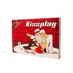 Juego erótico de pareja Kiss Play. ¡Diversión e innovación en tus relaciones sexuales de pareja! #sexxxmarket