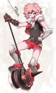 Boku no Hero Academia    Mina Ashido