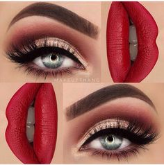 Stunning Eye Makeup #Beauty #Musely #Tip