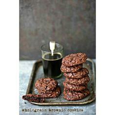 Wholegrain Brownie Cookies  #PAB #wholegrain #foodstyling #foodphotography #sodelicious #nomnom #baking #food #healthy #cookies #chocolate
