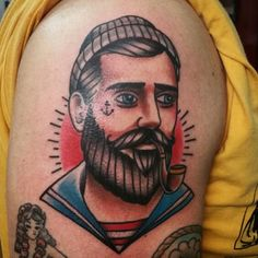 New traditional tattoo