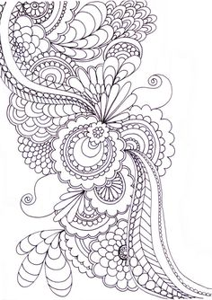 zentangle patterns to print - Google Search