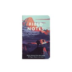 Field Notes - National Park Series F / 3 Pack