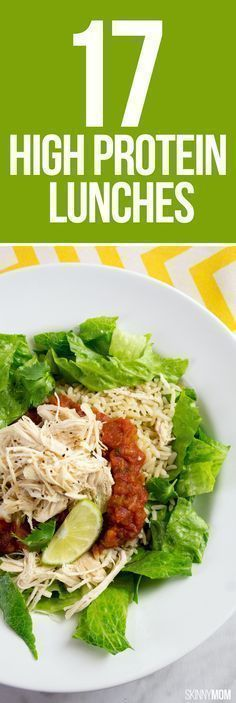 17 high protein lunch recipes to keep you full and help with weight loss! | Posted By: NewHowToLoseBellyFat.com