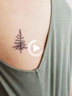 The Non-Basic Girl's Guide To Cute Tattoos - Tattoo-Ideen - Minimalist Tattoo Mini Tattoos, Boho Tattoos, Cute Small Tattoos, Little Tattoos, Nature Tattoos, New Tattoos, Basic Tattoos, Tatoos, Original Tattoos